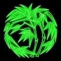 3D bamboo logo