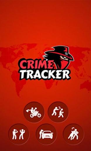 Crime Tracker App