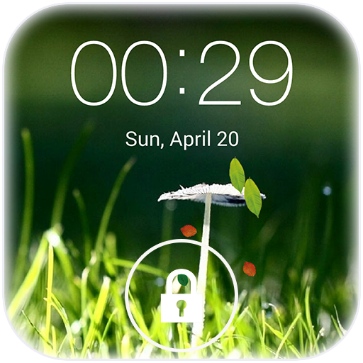 Spring live wallpaper lock LOGO-APP點子