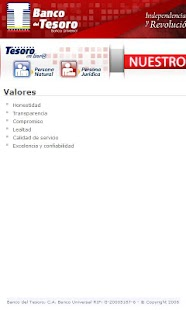 Banco del Tesoro - screenshot thumbnail