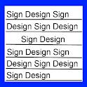 SignDesign logo