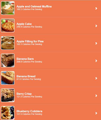 【免費健康App】Low Calorie Desserts Recipes-APP點子