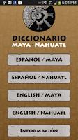 Screenshot of Maya - Nahuatl  Dictionary