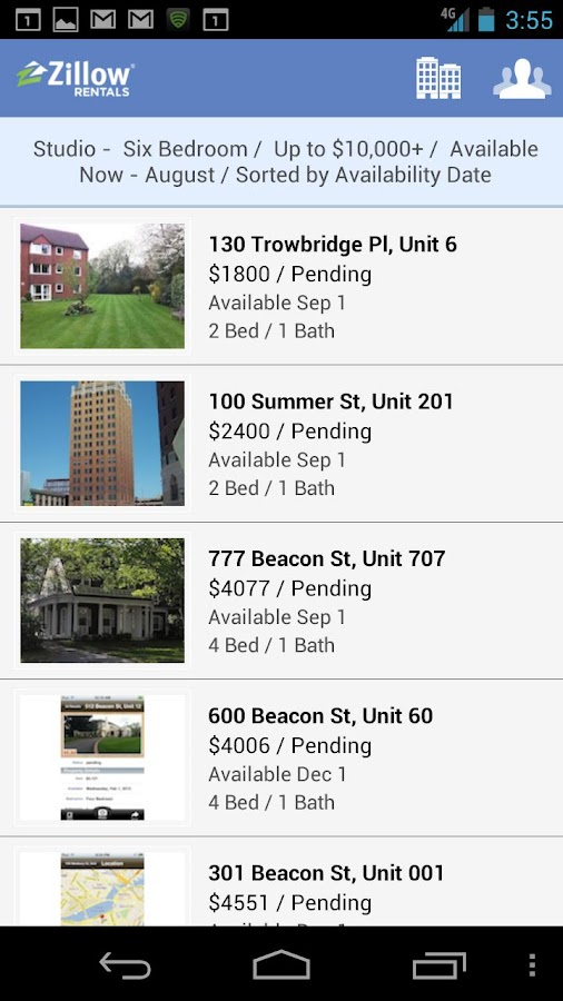 Zillow Rental Pro - screenshot
