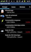 Screenshot of ConsoBox - manage your car