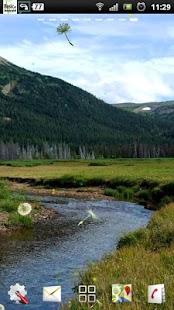 řeky potok live wallpaper - náhled