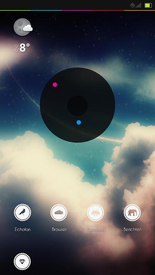 LunarUi II (Beta) - CM10 Theme - screenshot