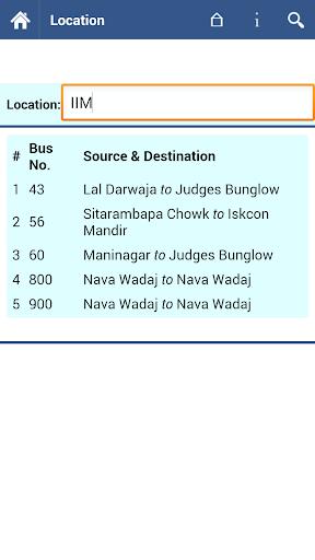Ahmedabad AMTS Info  screenshots 3