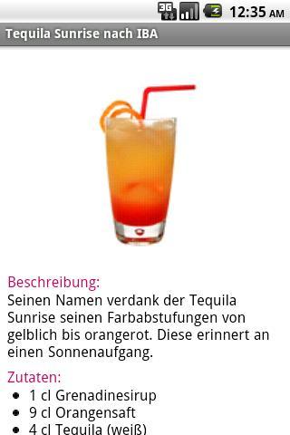 Cocktail- screenshot