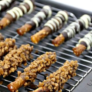 Chocolate Covered Pretzels Sticks Recipe