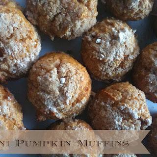 Mini Pumpkin Muffins.