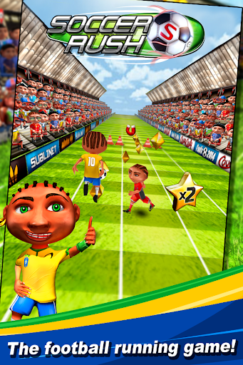 Soccer Rush: Football runner