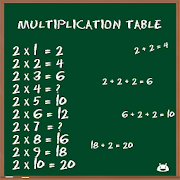 Multiplication Table FREE 2.2.2 Icon