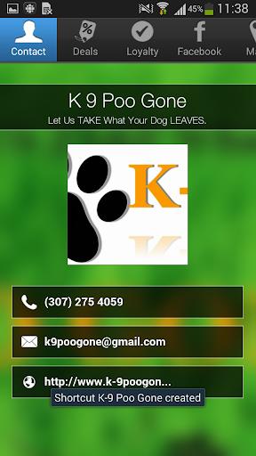 K 9 Poo Gone