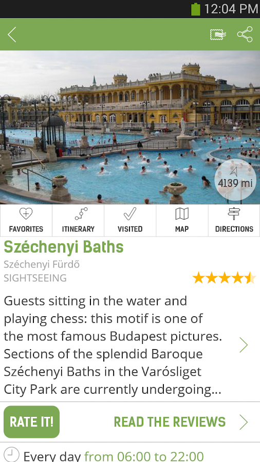Budapest Travel Guide – mTrip - screenshot