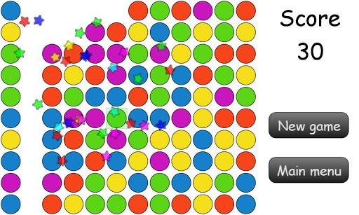 Colorful Bubbles Pop