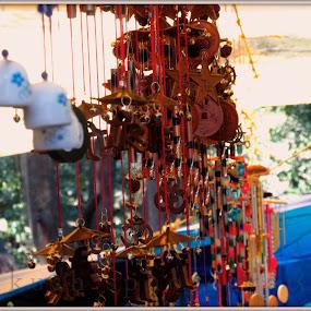 windchams by HeartMonster Ankush - Artistic Objects Musical Instruments ( waves, windchams )