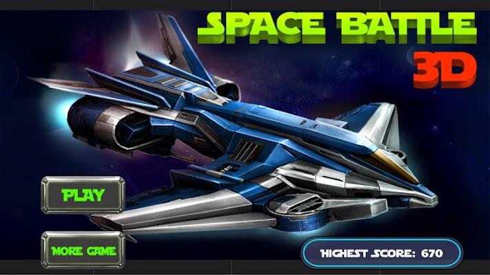 Space Battle 3D - screenshot