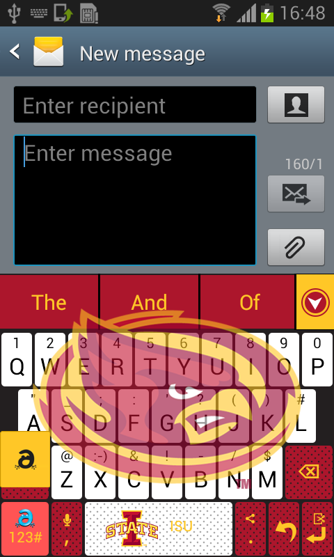 Iowa State Keyboard- screenshot