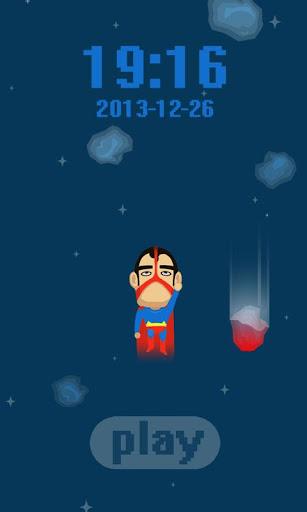 スーパーマン来た!