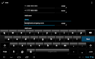 Screenshot of ThyrusHolo Black CM10 Theme