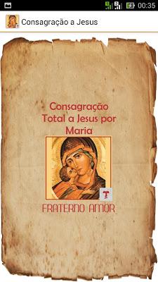 Consagração a Jesus por Maria - screenshot