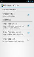 Screenshot of DS Super App2SD Lite