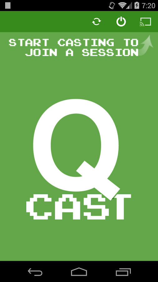 Qcast- screenshot