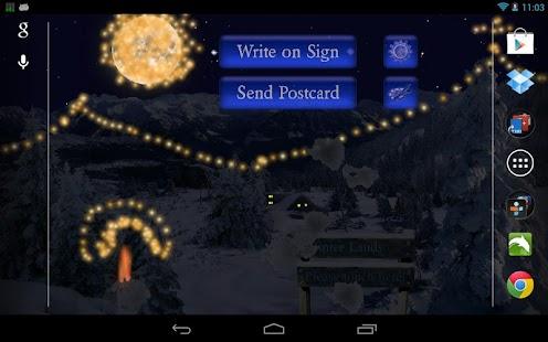 Winter Snow Live Wallpaper - screenshot thumbnail