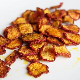 Radish Chips.