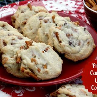 Pretzel Caramel Chip Cookies.