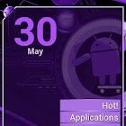 Cyanogen Purple ssLauncher icon