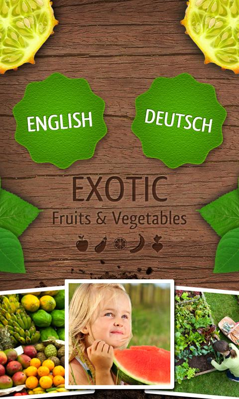 Exotic Fruits & Vegetables PRO- screenshot