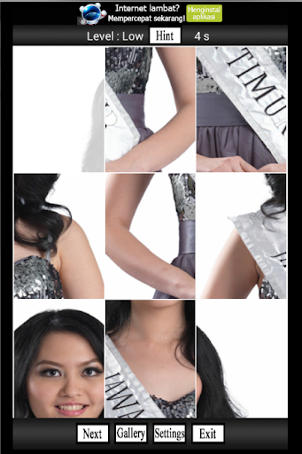 Miss Ina 2014 Puzzle Games