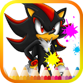 Speed the Hedgehog Coloring