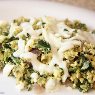 Spinach/Feta Eggs