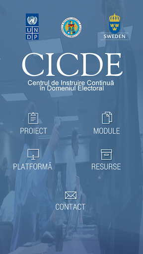 e-learning CICDE - Moldova