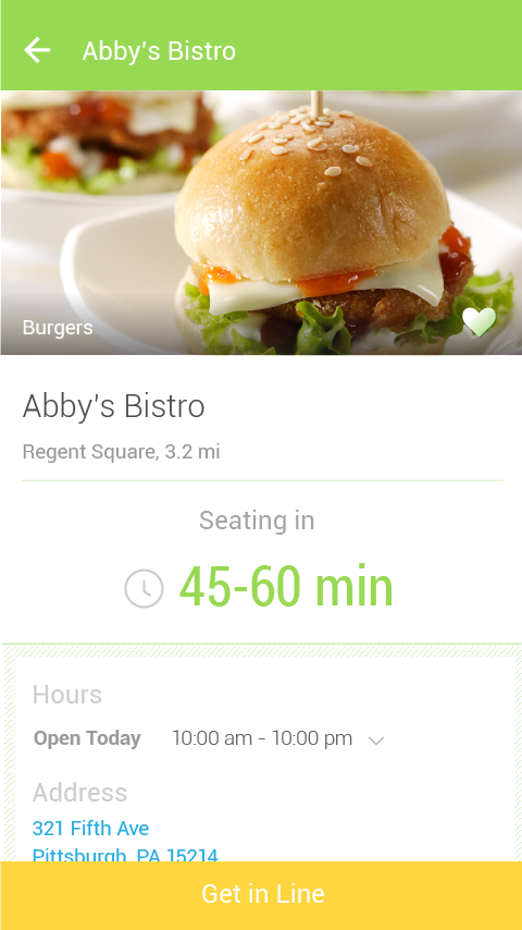 NoWait - Restaurant Wait Times - screenshot