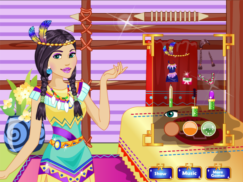 Native Princess Makeover- screenshot