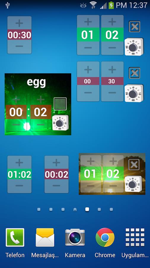 Widget Timer Pro - screenshot