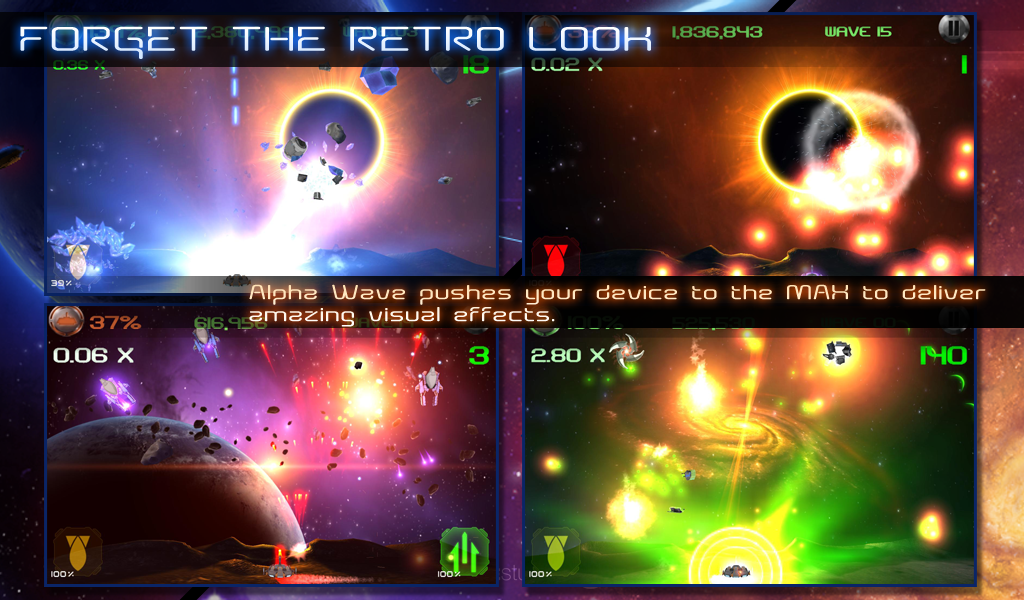 Alpha Wave Lite - screenshot