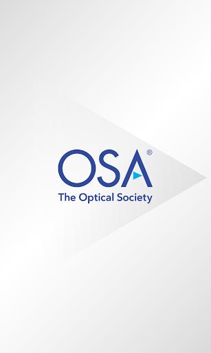 The Optical Society OSA