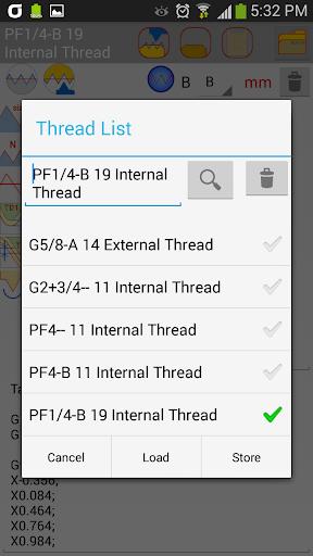 【免費生產應用App】CNC Threading-APP點子