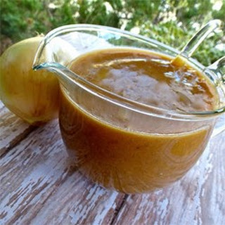 Onion Gravy for British Bangers and Mash