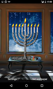 Hanukkah Holiday HD Wallpaper- screenshot thumbnail
