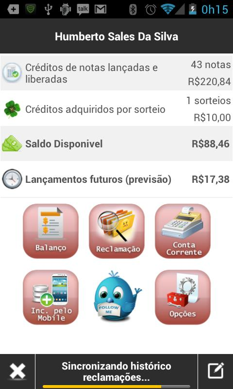 Integra Nota Paulista- screenshot