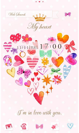 Cute Wallpaper My heart 1.0 Windows u7528 1
