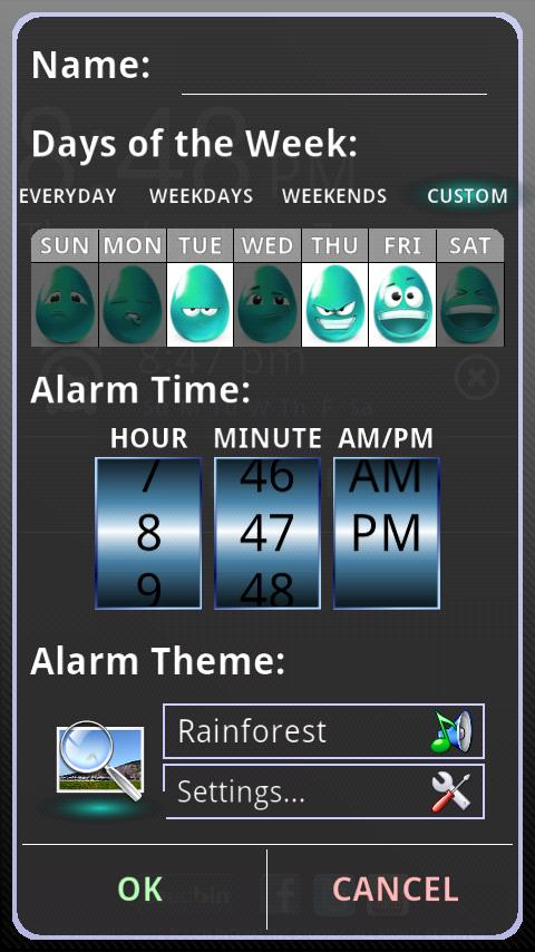 touchAlarm Lite: Alarm Clock- screenshot