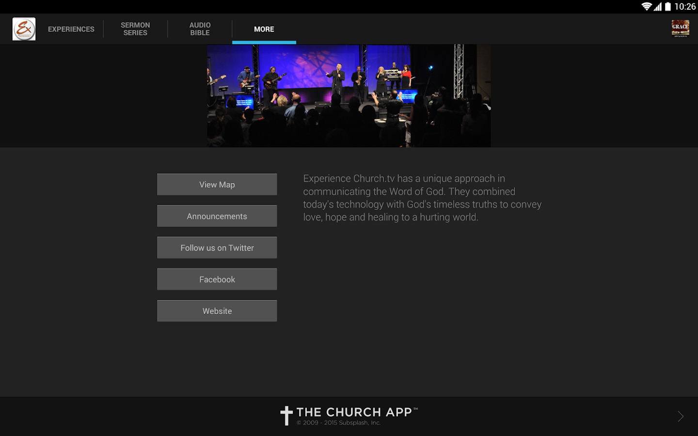 Experience Church.tv - screenshot
