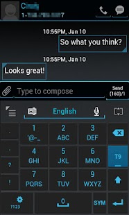GO Keyboard ICS Skin - screenshot thumbnail